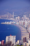 Bay of Benidorm Royalty Free Stock Photo