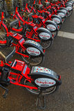 Bay Bike in Yokohama, Japan Stock Photos