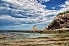 Bay of Biscay Royalty Free Stock Photography