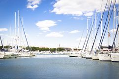 Bay, Blue, Boats stock photos