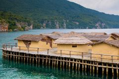 The Bay of the Bones,  Macedonia Royalty Free Stock Images