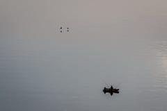 Bay of bones on Ohrid lake landscape Royalty Free Stock Image