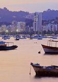 bay botafogo de janeiro Ρίο Στοκ εικόνες με δικαίωμα ελεύθερης χρήσης