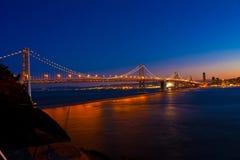 Bay Bridge. San Francisco Bay Bridge from Treasure Island Stock Images