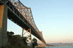 bay bridge Zdjęcie Stock