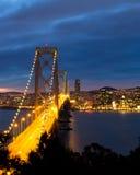 Bay Bridge. And San Francisco Royalty Free Stock Image