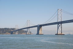 Bay Bridge. San francisco - bay area - bay bridge Royalty Free Stock Images