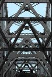 Bay Bridge abstract. Details of Bay Bridge in San Francisco, California Royalty Free Stock Photos