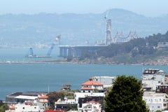 Bay Bridge Construction San Francisco Stock Photos