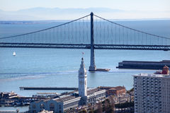 Bay Bridge Ferry Terminal San Francisco Royalty Free Stock Photo