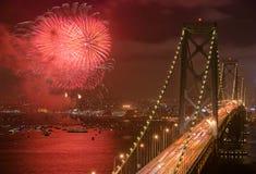 bay bridge francisco san Στοκ εικόνες με δικαίωμα ελεύθερης χρήσης