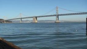 bay bridge francisco san απόθεμα βίντεο