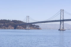 Bay Bridge Island Royalty Free Stock Images