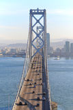 Bay Bridge & San Francisco Stock Images