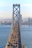 Bay Bridge & San Francisco stock images