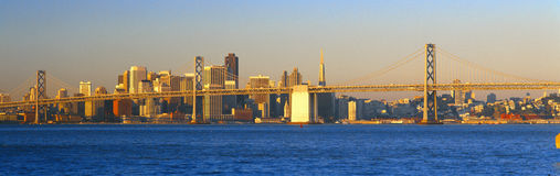 Bay Bridge in  San Francisco Stock Photography