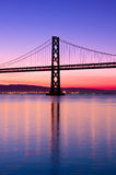 Bay Bridge, San Francisco, California. Royalty Free Stock Photo