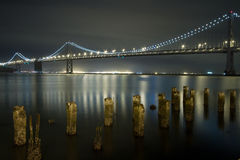 BAY BRIDGE, SAN FRANCISCO, CALIFORNIA Stock Image