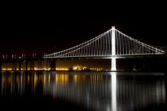 Bay Bridge San Francisco California Stock Images