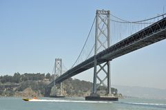 Bay Bridge San Francisco California Stock Photo