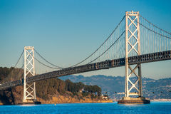 Bay bridge, San Francisco, California, USA. Royalty Free Stock Images