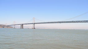 Bay Bridge in San Francisco, California, USA, stock video