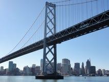 Bay Bridge and San Francisco Cityscape royalty free stock images