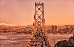 Bay Bridge, San Francisco Stock Photos
