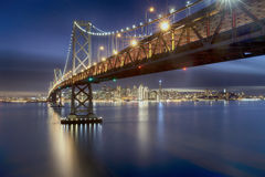 Bay Bridge of San Francisco Stock Images