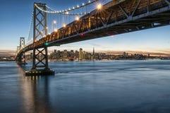 Bay Bridge San Francisco Treasure Island Royalty Free Stock Photo