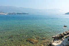 Bay in Budva, Montenegro Stock Photography