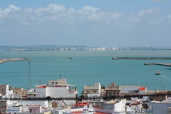 Bay of Cadiz Royalty Free Stock Photo