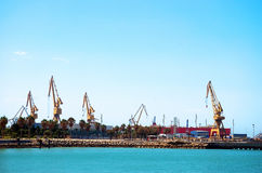 Bay of Cadiz. Andalusia. Spain Stock Image