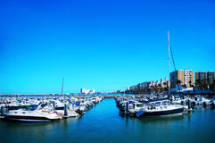 Bay of Cadiz. Andalusia. Spain Royalty Free Stock Photography
