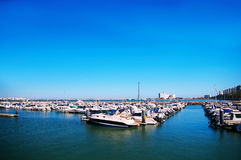 Bay of Cadiz Stock Image