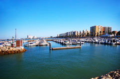 Bay of Cadiz. Andalusia. Spain Stock Images
