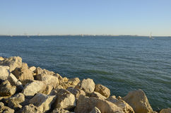 Bay of Cadiz Royalty Free Stock Images