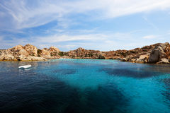 Bay of Cala Coticcio in Caprera island, Sardinia, Italy Stock Photography