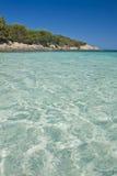 The Bay of Cala Granu in Sardinia Stock Images