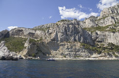 Bay in Calanques, France Stock Photos
