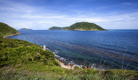 Bay Canh small island Stock Images