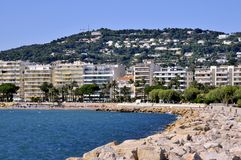 Bay of Cannes in France Royalty Free Stock Image