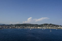 Bay of Cannes in France Stock Image