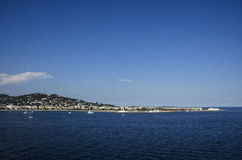 Bay of Cannes in France Royalty Free Stock Photography