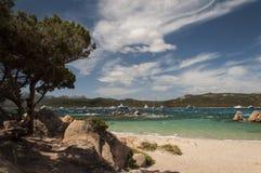 Bay of capriccioli Royalty Free Stock Photo