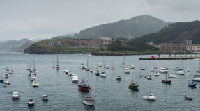 Bay Of Castro Urdiales Stock Photography