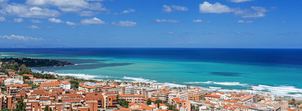 Bay in Cefalu Sicily Stock Image
