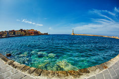Bay of Chania Stock Images