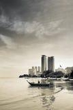 Bay in city Stock Photo
