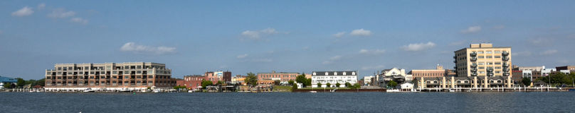 Bay City, costa de Michigan Imágenes de archivo libres de regalías
